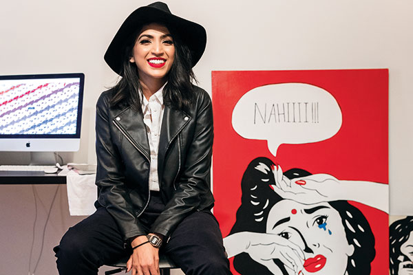 Maria Qamar, Hatecopy, artist living and working in Toronto