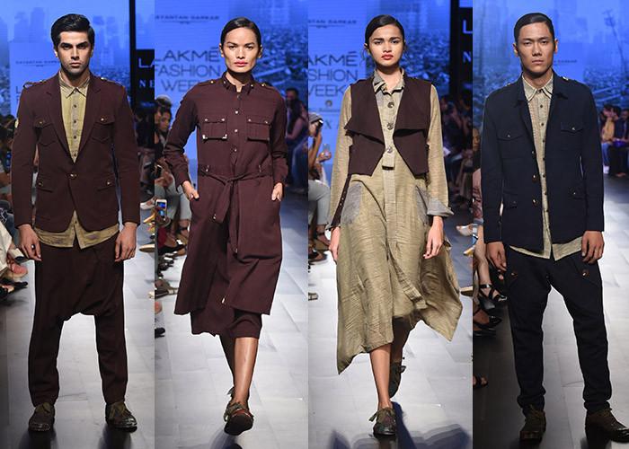 Sayantan Sarkar, Lakme Fashion Week, Lakme Fashion Week Winter Festive 2017, Fashion, Designers, Runway, LFW,