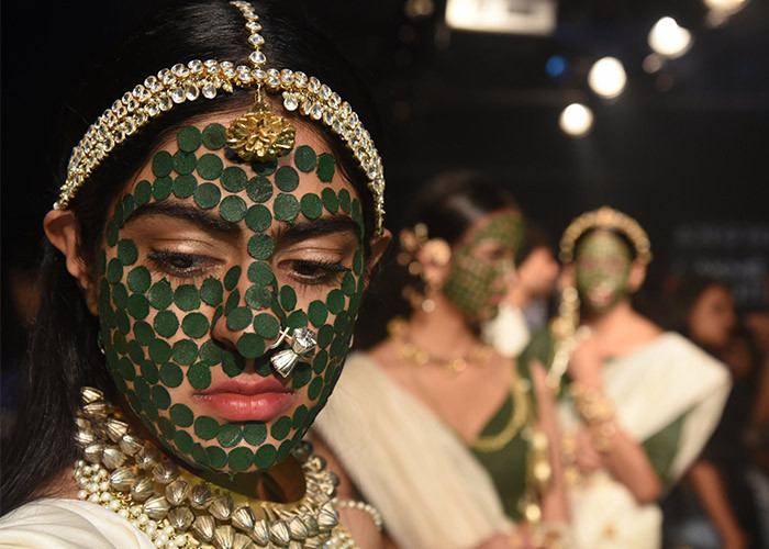 Vasundhara Mantri, Lakme Fashion Week, Lakme Fashion Week Winter Festive 2017, Fashion, Designers, Runway, LFW,
