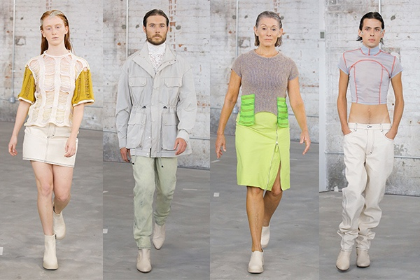 NYFW, New York Fashion Week 2018, Spring, Eckhaus Latta, Mike Eckhaus, Zoe Latta