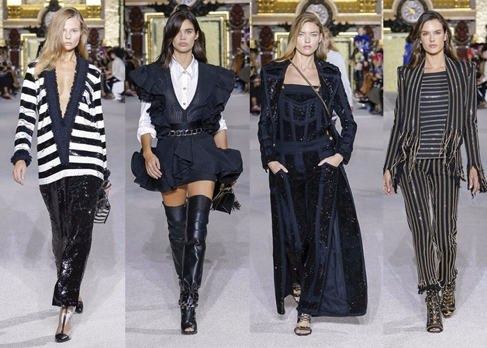 Balmain, Paris Fashion Week, Fashion, Designer,