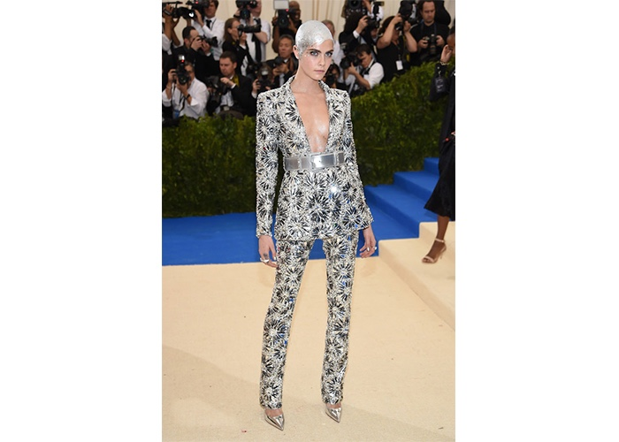 Fashion, Featured, Online Exclusive, Red Carpet, Style, Cara Delevingne in Chanel Couture at the Met Gala
