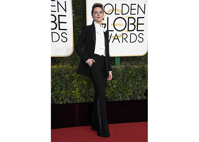 Fashion, Featured, Online Exclusive, Red Carpet, Style, Evan Rachel Wood in Altuzarra at the Golden Globe Awards