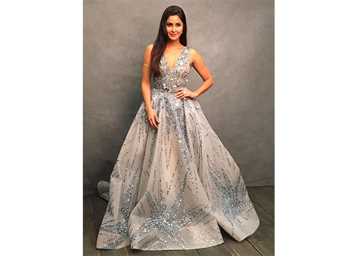 Fashion, Featured, Online Exclusive, Red Carpet, Style, Katrina Kaif in Ziad Nakad at the IIFA Awards