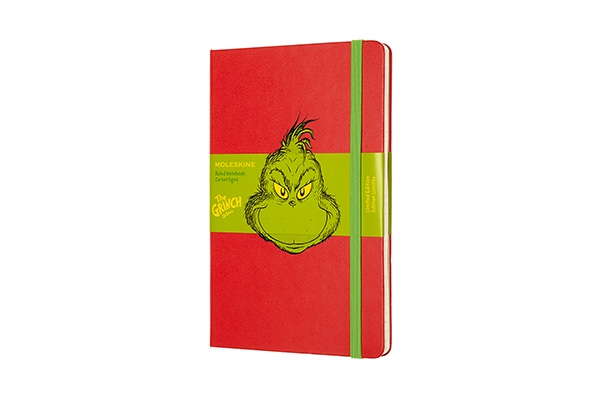 Moleskine, Dr Seuss Limited Edition Notebook, Christmas, Fashion, Featured, Gift, Gifting, Guide, Ideas, Luxury, Online Exclusive, Presents, Style