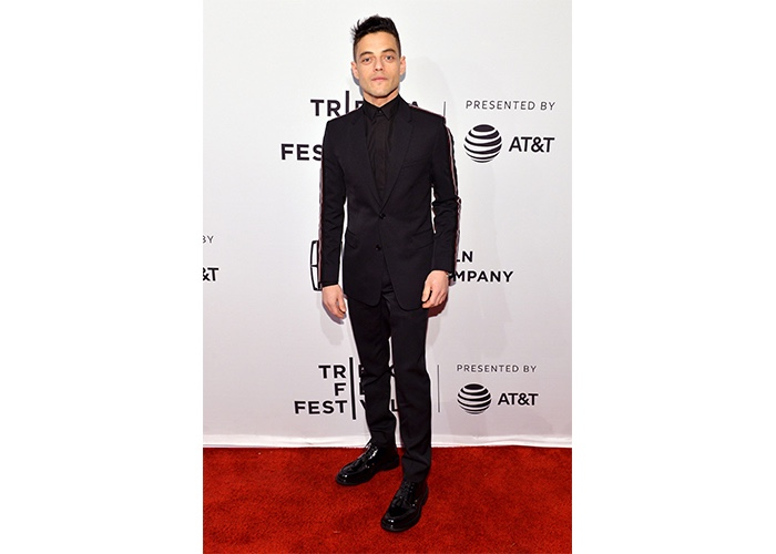 "Fashion, Featured, Online Exclusive, Red Carpet, Style, Rami Malek in Dior Homme at the ""Buster's Mal Heart"" Tribeca Premiere"