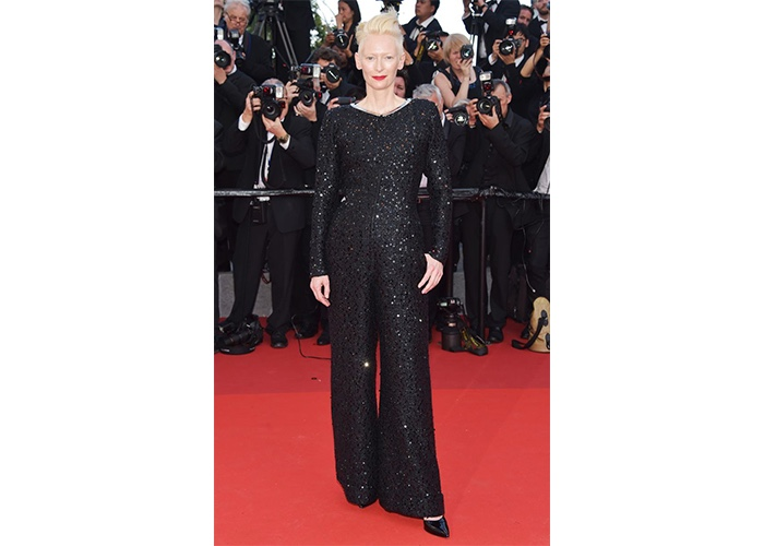 Fashion, Featured, Online Exclusive, Red Carpet, Style, Tilda Swinton in Chanel at the Cannes Film Festival
