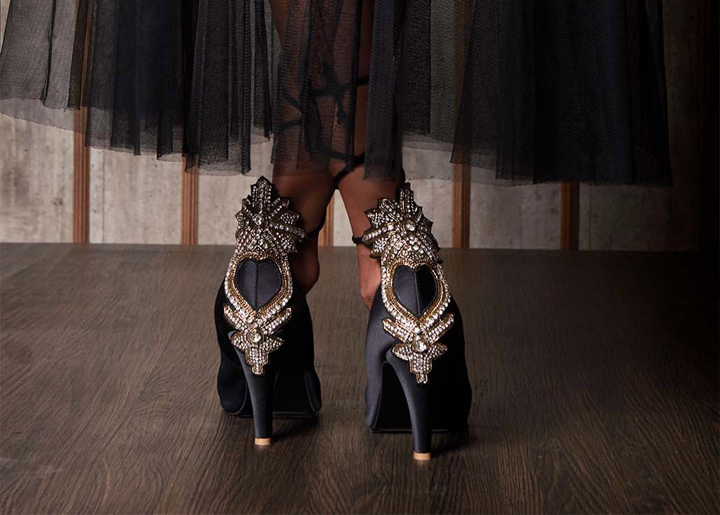 Customised, Featured, Footwear, Online Exclusive, Payal Kothari, Shoes, Veruschka