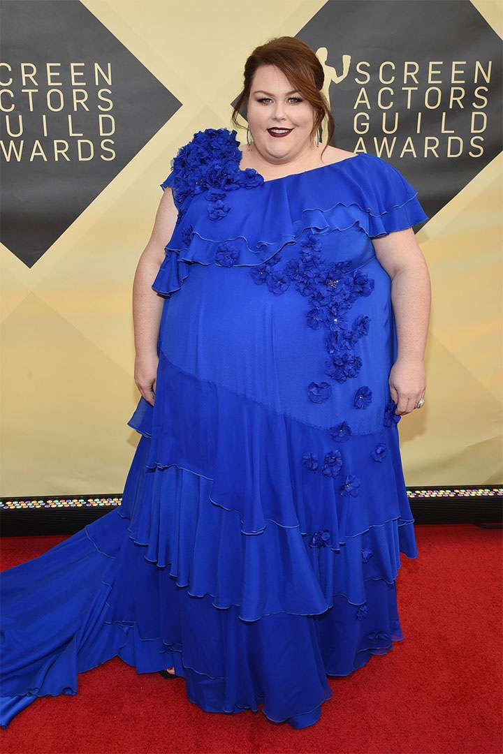 Chrissy Metz, Kate Spade, 2018, 24th Annual Screen Actors Guild Awards, Fashion, Featured, Online Exclusive, Red Carpet, SAG Awards, Screen Actors Guild Awards, Style