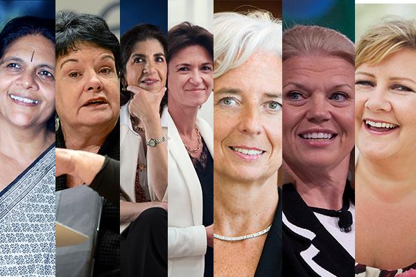 2018, All-female, All-women, Chetna Sinha, Christine Lagarde, Co-chair, Davos, Erna Solberg, Fabiola Gianotti, Featured, Females, Ginni Rometty, Isabelle Kocher, Online Exclusive, Sharan Burrow, WEF, WEF 2018, Women, World Economic Forum, World Economic Forum 2018