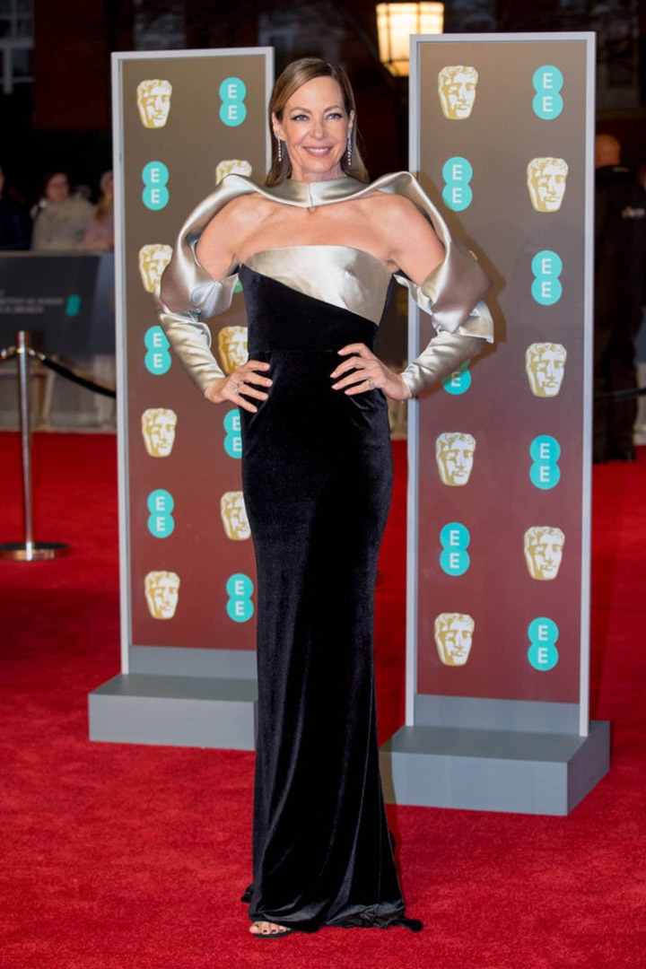 Allison Janney, Bibhu Mohapatra, Awards Show, BAFTA, BAFTAs 2018, Black, British Academy Film Awards, Cinema, Entertainment, Fashion, Featured, Film, Hollywood, Movies, Online Exclusive, Style, Time's Up