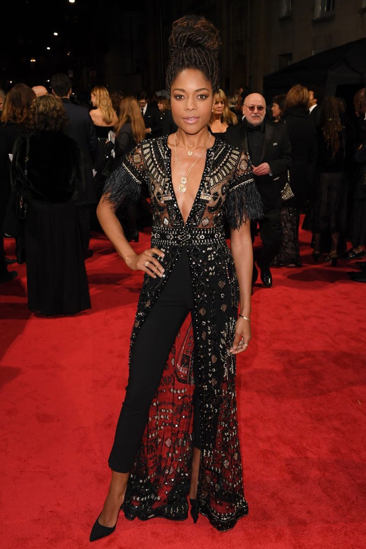 Naomie Harris, Zuhair Murad, Awards Show, BAFTA, BAFTAs 2018, Black, British Academy Film Awards, Cinema, Entertainment, Fashion, Featured, Film, Hollywood, Movies, Online Exclusive, Style, Time's Up