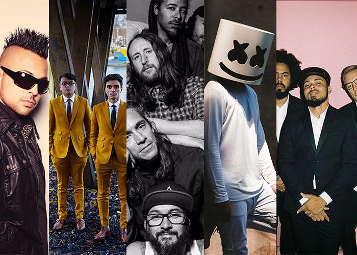 Artistes, Bands, Concert, Featured, Incubus, Major Lazer, Marshmello, Music, Music Festivals, Musicians, Online Exclusive, Parekh & Singh, Sean Paul, VH1 Supersonic, VH1 Supersonic 2018