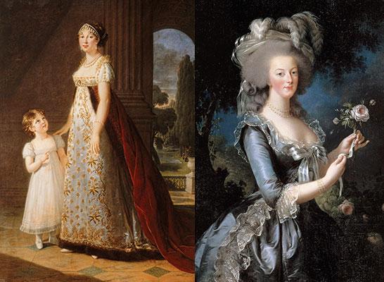 Breguet, Caroline Murat, Marie Antoinette