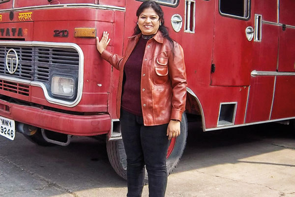 Harshini Kanhekar, Firefighter