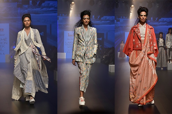 Fashion, Featured, Lakme Fashion Week, Lakmé Fashion Week 2018, Lakme Fashion Week Winter/Festive 2018, Online Exclusive, Style, Winter/Festive, INIFD Gen Next, Kanika Sachdev, Jajaabor