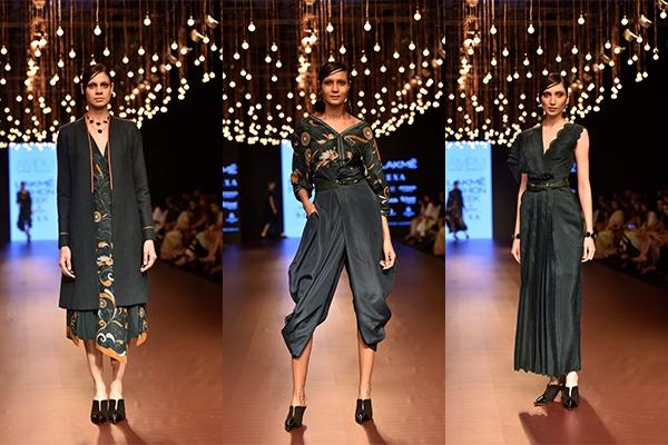 Fashion, Featured, Lakme Fashion Week, Lakmé Fashion Week 2018, Lakme Fashion Week Winter/Festive 2018, Online Exclusive, Style, Winter/Festive, Ankur & Priyanka Modi, AM:PM