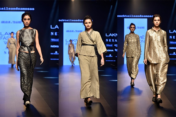 Fashion, Featured, Lakme Fashion Week, Lakmé Fashion Week 2018, Lakme Fashion Week Winter/Festive 2018, Online Exclusive, Style, Winter/Festive, Abraham & Thakore