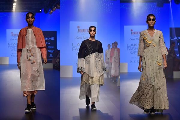Fashion, Featured, Lakme Fashion Week, Lakmé Fashion Week 2018, Lakme Fashion Week Winter/Festive 2018, Online Exclusive, Style, Winter/Festive, INIFD Gen Next, AUR, Ajay Kumar Singh