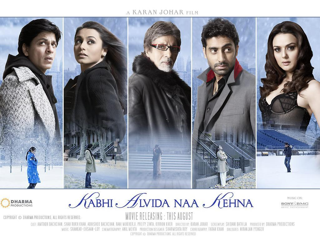 Bollywood, Cinema, Dharma Productions, Films, Kabhi Alvida Naa Kehna, KANK, Karan Johar, Movies