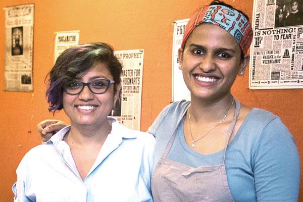 Shirin Mehrotra and Shriya Shetty