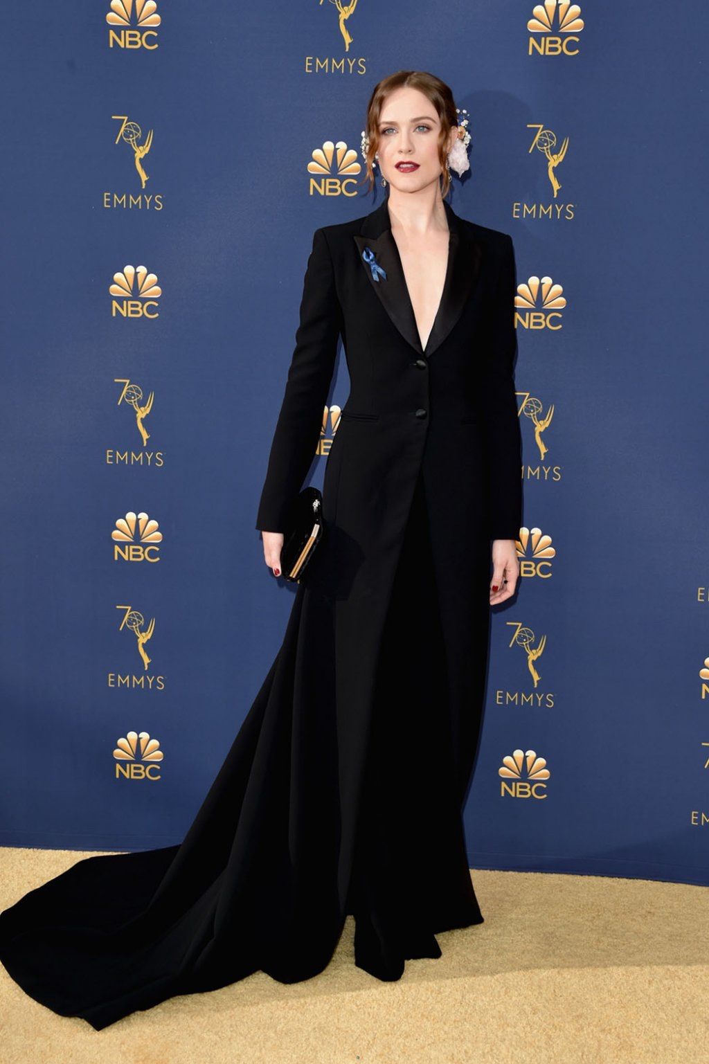 Evan Rachel Wood in Altuzarra, 70th Annual Primetime Emmy Awards, Betty White, Emmys 2018, Fashion, Featured, Glenn Weiss, Hannah Gadsby, highlights, Jav Svendsen, Online Exclusive, Style, The Marvellous Mrs. Maisel, top moments, We solved it, Diversity
