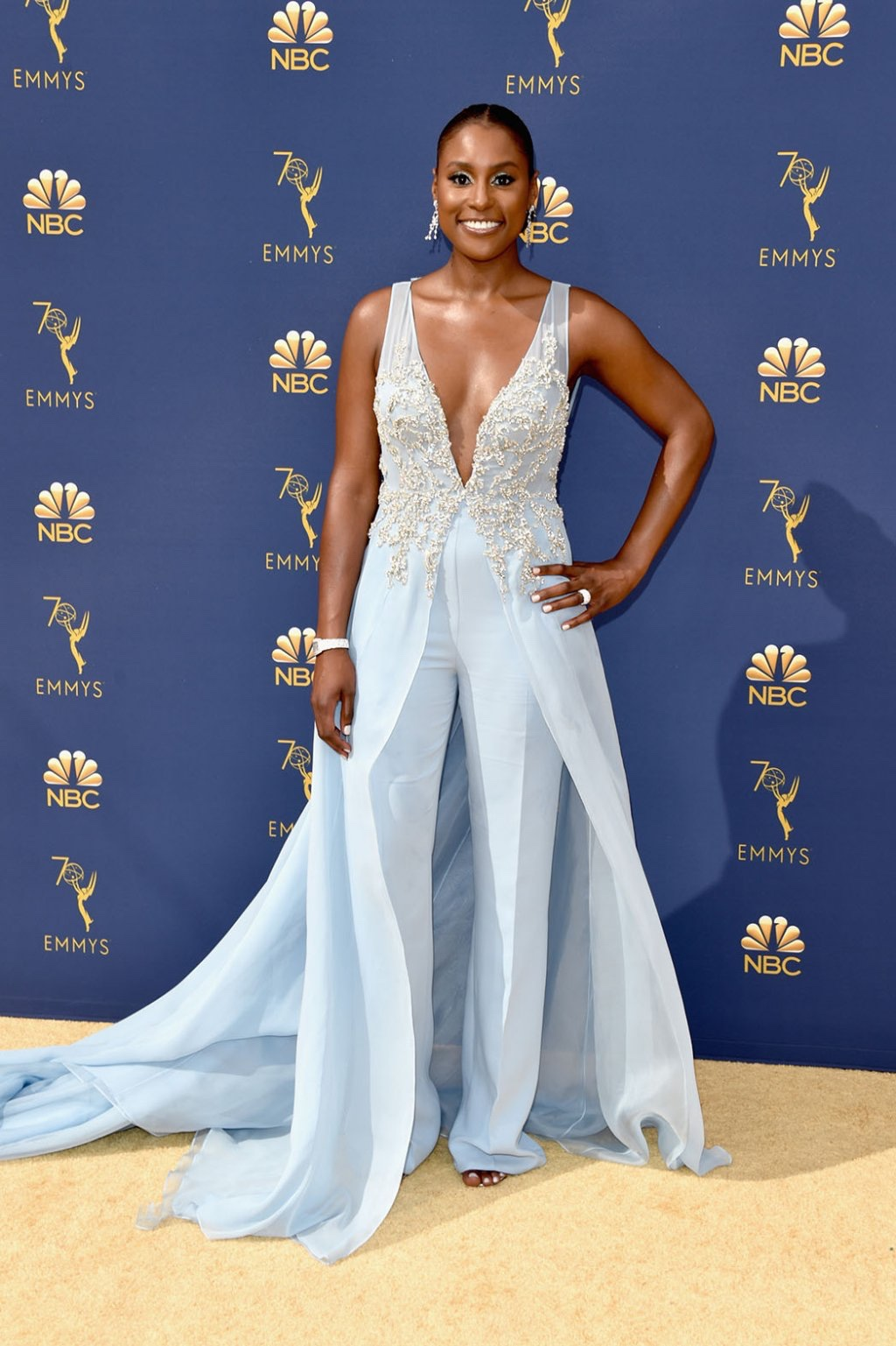 Issa Rae in Vera Wang, 70th Annual Primetime Emmy Awards, Betty White, Emmys 2018, Fashion, Featured, Glenn Weiss, Hannah Gadsby, highlights, Jav Svendsen, Online Exclusive, Style, The Marvellous Mrs. Maisel, top moments, We solved it, Diversity