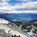 The Panoramic View From Blackcomb Mountain, Whistler, Canada