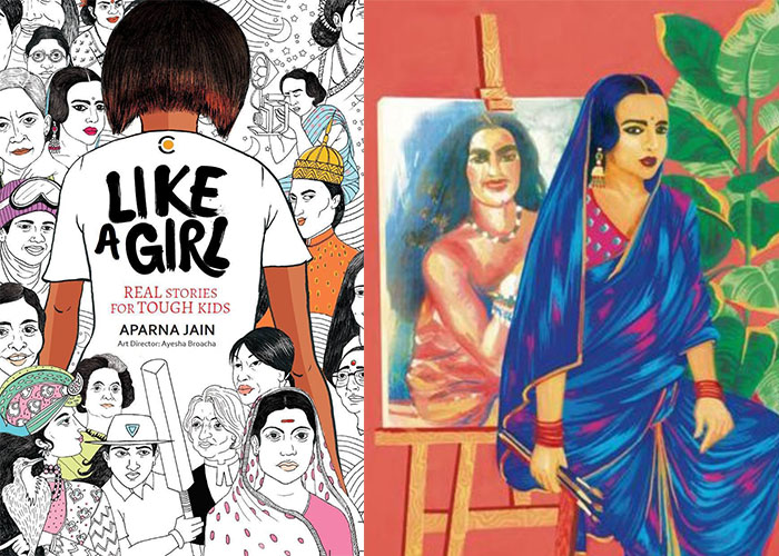 Amrita Sher-Gil, Aparna Jain, Audible, audiobook, Books, Featured, Feminism, Goodnight Stories For Rebel Girls, Irom Chanu Sharmila, Like A Girl, Mary Kom, Online Exclusive, Rasika Dugal, RJ Malishka, Varsha Varghese, Women Empowerment, Women's Day