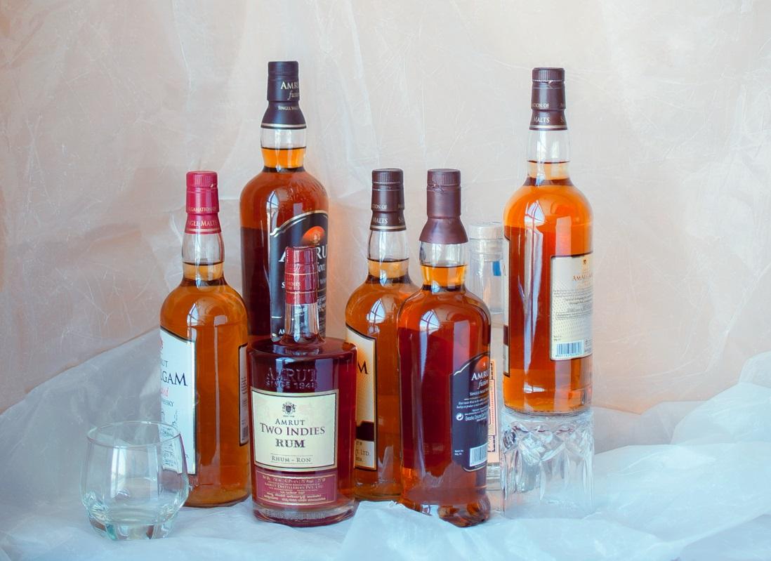 Amrut Distilleries, Amrut Fusion, Amrut's MaQintosh, Featured, Fusion X, home-grown single malt, home-grown whisky, Jim Murray's Whisky Bible, local alcohol, Neelakanta Jagdale, Online Exclusive, Rakshit Jagdale, Singe malt, Thrivikram Nikam