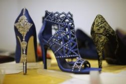 Scarpe, Gold, Oro, Cenerentola, bijoux, 24 carati, designer, Vietri, donne