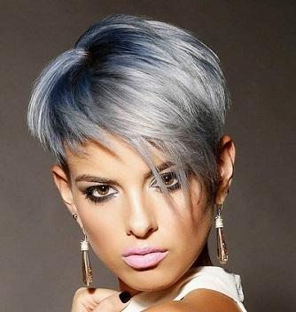 Effetti di colore su capelli corti