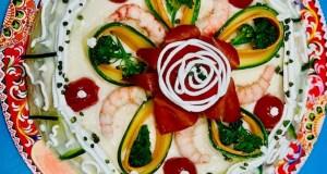 Cassata salata del mediterraneo