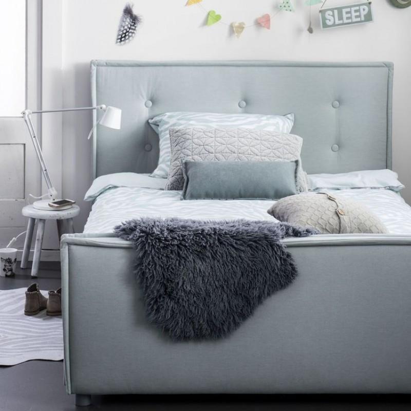 Coming Kids Sun gestoffeerd bed 90x200 cm  Verwende Apen