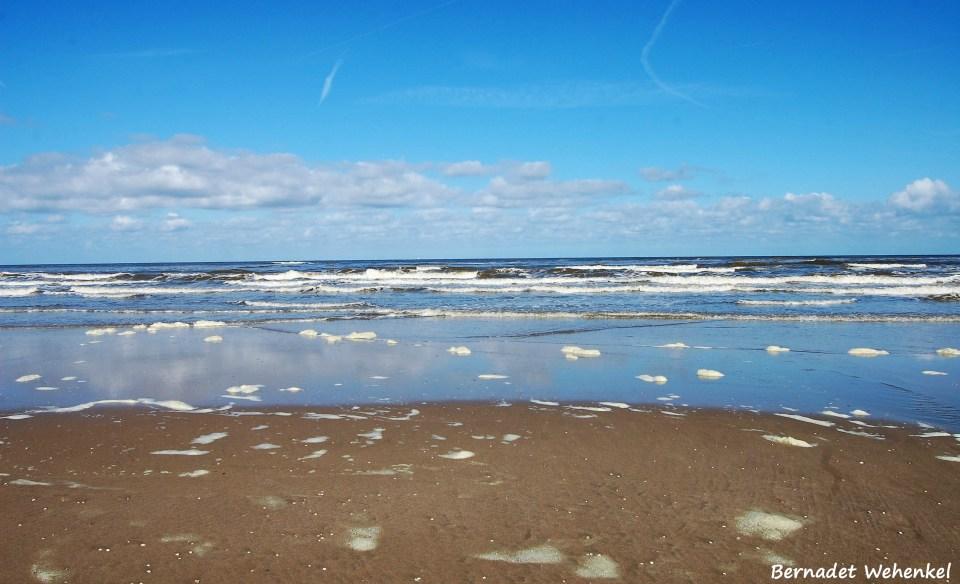 Op het strand in Noordwijk aan Zee