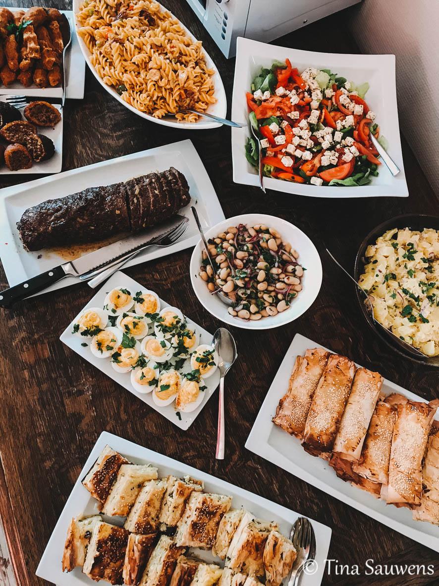 Lunchbuffet in De Pastorie