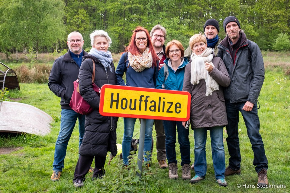 Houffalize-bord in Kiewit.