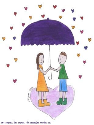 Liefde het regent