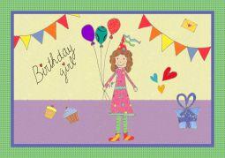 birthday girl klaar