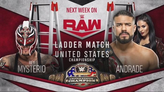 Andrade vs Mysterio