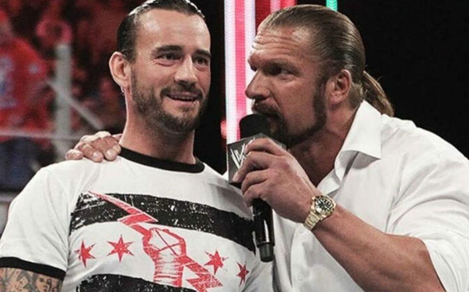 CM Punk vs Triple H