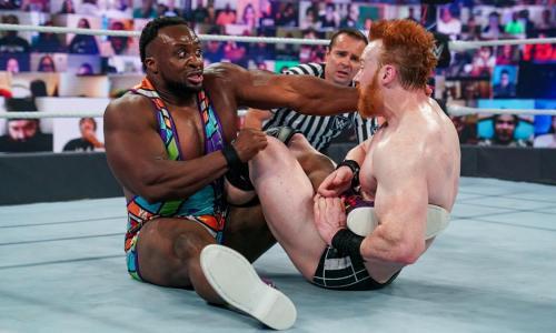 Big-E vs Sheamus