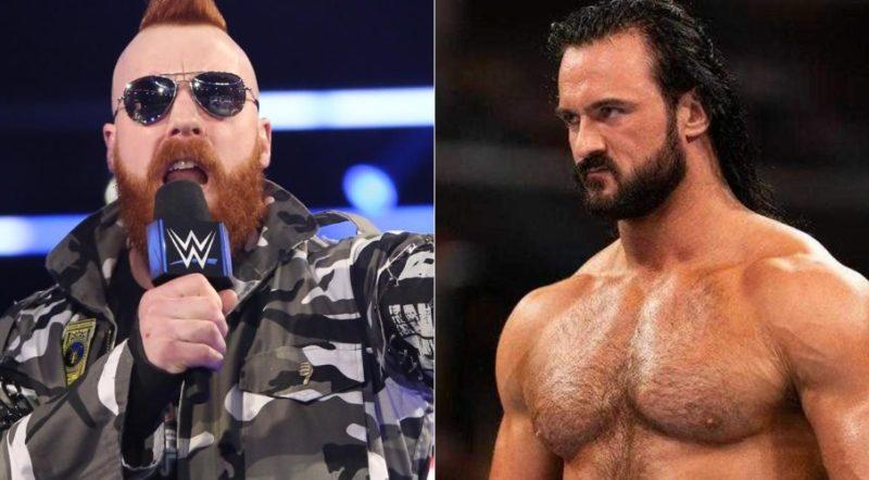 Sheamus vs Drew McIntyre