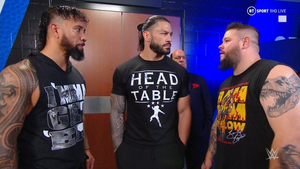 Roman Reigns y Kevin Owens