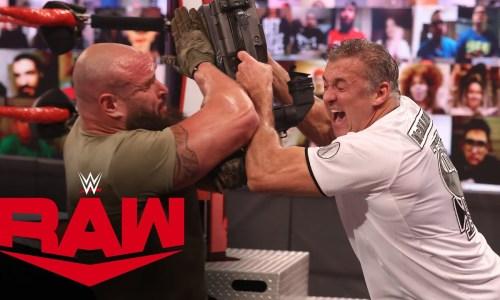 Shane McMahon vs Strowman