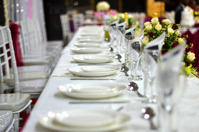 The Zambian Wedding Reception Checklist