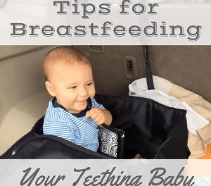 "<p style=""text-align: center;""><span style=""font-family: 'comic sans ms', sans-serif; color: #ff5e78;""><strong>Tips for Breastfeeding a Teething Baby</strong></span></p>"