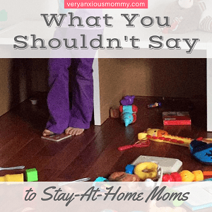 """<p style=""""text-align: center;""""><span style=""""font-family: 'comic sans ms', sans-serif; color: #ff5e78;""""><strong>6 Things You Should NEVER Say to a Stay-at-Home-Mom</strong></span></p>"""