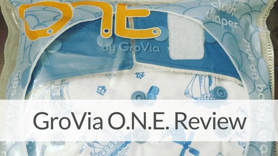 GroVia O.N.E. Cloth Diaper Review & GIVEAWAY!<em>(CLOSED)