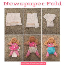 How to fold a prefold cloth diaper. In this post I am showing you the 5 most popular ways to fold a prefold cloth diaper without much effort. Cloth diapering is not as hard as many people think. Prefold cloth diapers are also one of the most versatile and cheap options when cloosing to cloth diaper your baby. Prefolds | Prefold cloth diapers | Prefolds & covers | cloth diapering tutorial | cloth diaper folds | cloth diapering for beginners | cloth diapering 101.